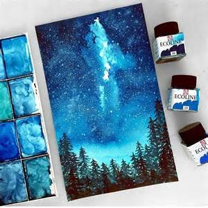 Wall Murals Toronto 25 best ideas about night sky painting on pinterest