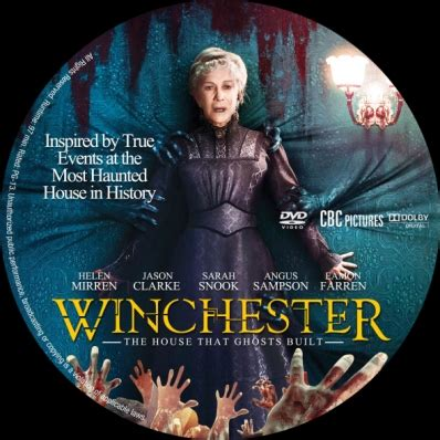 winchester dvd covers & labels by covercity