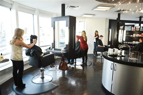 Hair Dressers In Manchester by Turning Hair Styles Fringe Hair Salon Kelowna