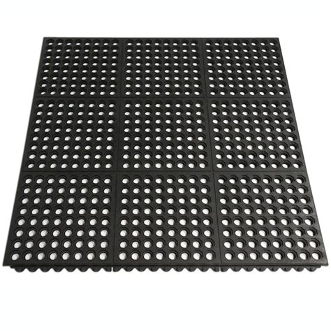 Industrial Carpet Mats by Quot Dura Chef Interlock Commercial Quot Kitchen Mats