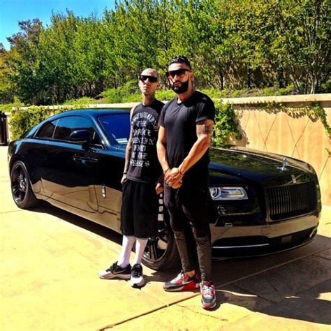 rick ross bentley wraith travis barkers quot murdered out quot rolls royce wraith