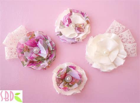 fiori stoffa tutorial tutorial fiori di stoffa fabric flowers