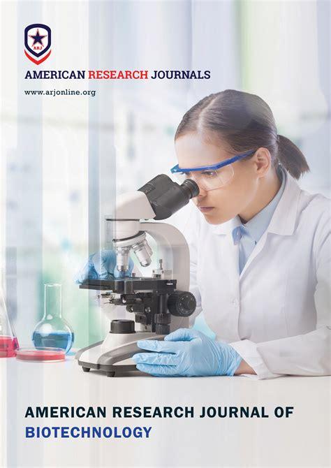 international research journal  biotechnology  journal  biotechnology