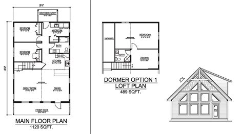 vancouver floor plans the vancouver prefab cabin and cottage plans winton homes