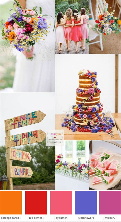 Wedding Ideas For Summer by Summer Wedding Flowers In Season Bold Bright Summer
