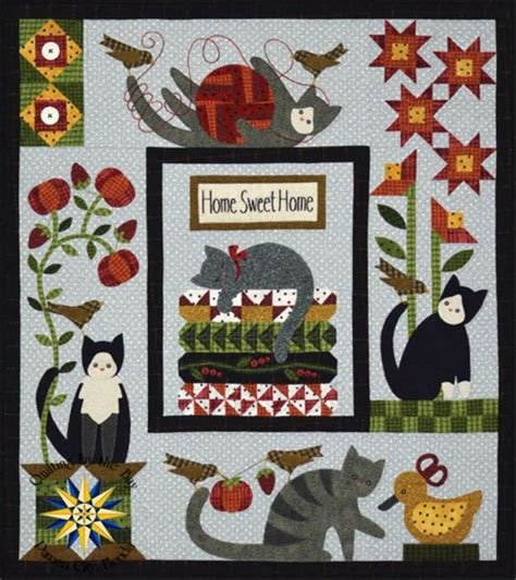Patchwork Cat Quilt Block Patterns - 297 best animal quilts images on