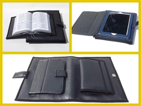 Field Service Organizer by Jw Ministry Organizer With Attached Bible And Tablet E Reader