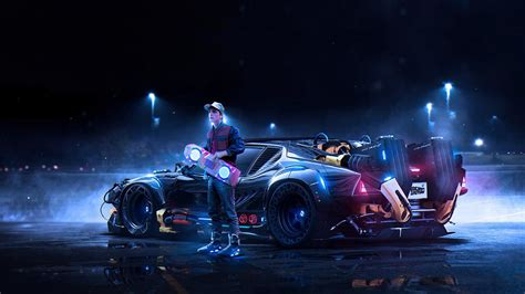 back to the future concept wallpapers hd wallpapers id