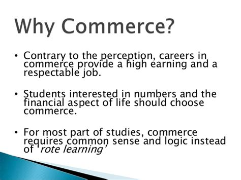 Cfa Instead Of Mba by Career Oppertunities In Commerce