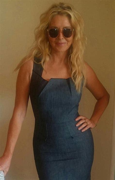 Dress Carol Wash carol vorderman rocks a denim dress denimology
