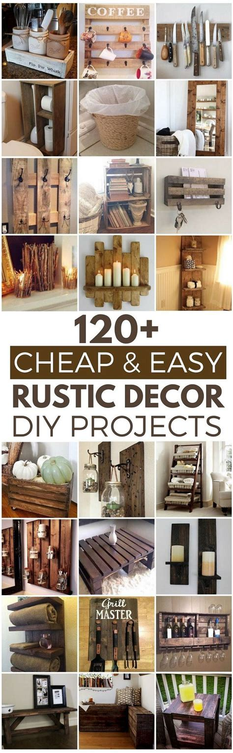 6 cheap home decorating ideas simple and cheapest way to 25 best ideas about rustic cottage on pinterest rustic