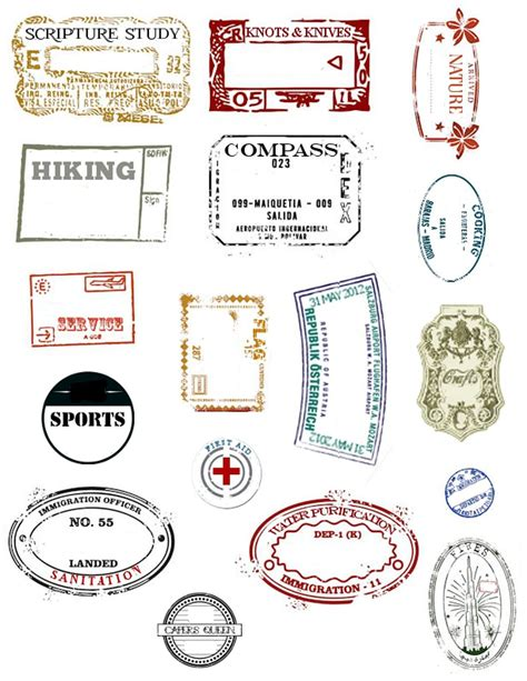 make your own passport template embark passport st printables passport sts lds