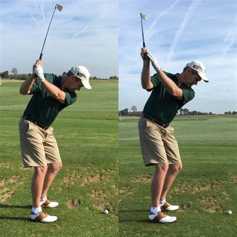 shallow golf swing a drill to shallow the shaft