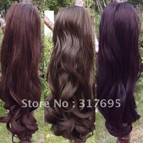 hair extensions ta free shipping korean high temperature fiber ponytail