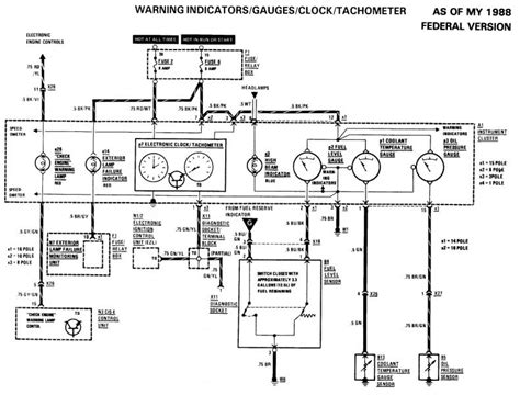 1987 mercedes 300d alternator wiring diagram wiring