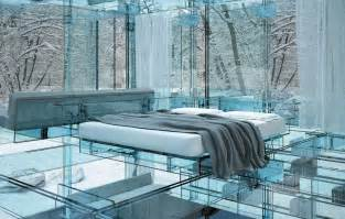 Raising A Bed Frame Glass Houses By Santambrogio Milano Arch Art Me