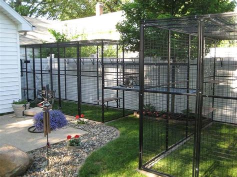 backyard cat enclosure outdoor cat house outdoor cat enclosures attached to house