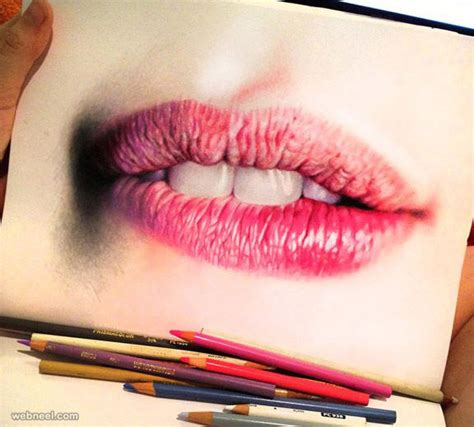 Lip Colour Pencil Make 25 stunning and realistic color pencil drawings by