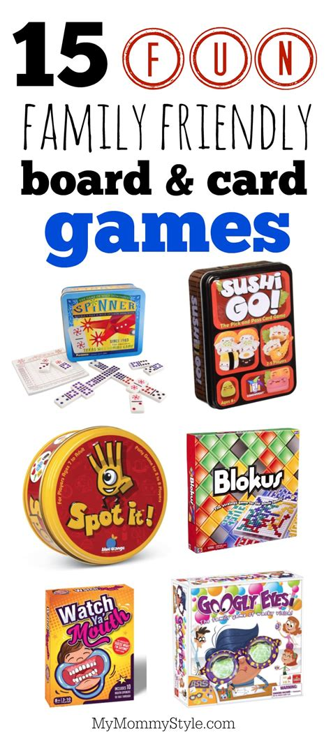 fun board and card games for the whole family my mommy style