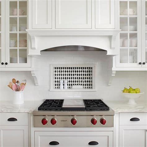 tile backsplash ideas for the range stove subway