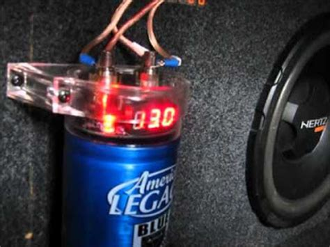 how to charge a car audio capacitor without a resistor how to charge a car audio capacitor before installation without a resistor how to install car