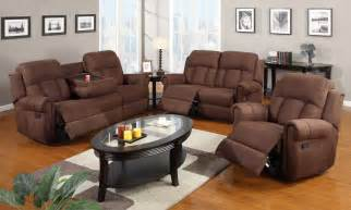 sofa and recliner sets 3pc modern rocker recliner sofa cup holder loveseat