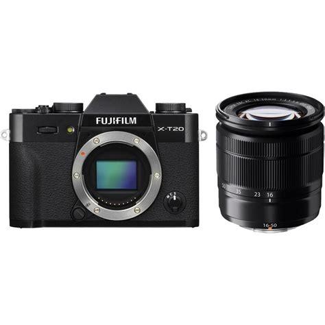 Lensa Fujifim 50 230 Mirroless fuji x t20 digital with xc 16 50 and xc 55 230 lens black