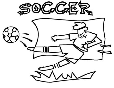 printable coloring pages soccer free printable soccer coloring pages for kids
