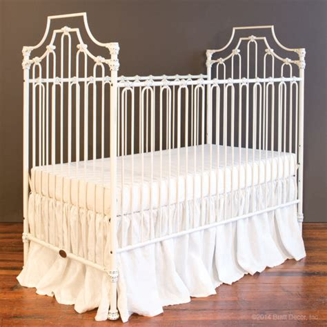 Distressed Baby Crib by Parisian 3 In 1 Crib Distressed White