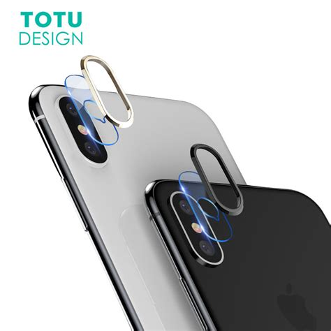 Totu Screen Protector Iphone 7 Tempered Glass Eye Protector Original totu transparent lens screen protector for iphone x