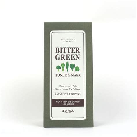 Toner Skinfood skinfood bitter green toner mask review