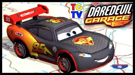 Disney Cars Garage by Disney Pixar Cars Lightning Mcqueen Carbon Fiber Racers