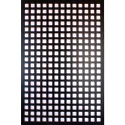 home depot plastic lattice acurio latticeworks 1 4 in x 32 in x 4 ft black square