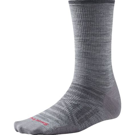 smartwool hiking light crew socks smartwool phd outdoor ultra light crew sock backcountry com