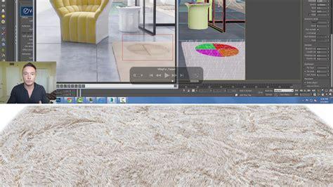 vray sketchup tiles tutorial vrayfur learn to design a ligne roset carpet in 3ds max