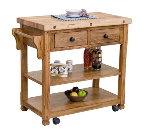 sedona rustic oak kitchen island 399 99 available at