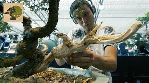 bonsai masterclass all you need 0806967633 bonsai master masashi hirao 2016 bonsai without borders global summit china youtube