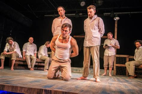 theater review corpus christi   world filled    trouble  hate