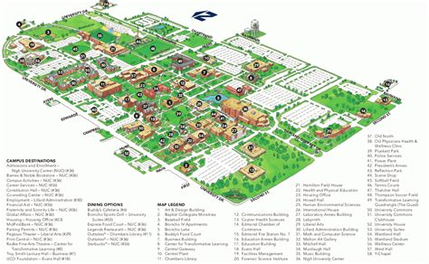 uco parking map map of oklahoma state bnhspine