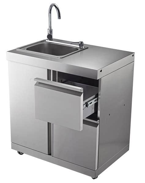 Sink Cabinet Kitchen outdoor kitchen chefmaster galley series 4 burner bbq