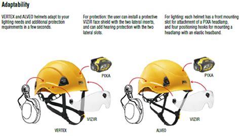 Aufkleber Auf Helm Anbringen by Bietet Petzl Einen Geh 246 Rschutz F 252 R Die Helme Vertex Und