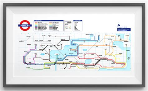 legend of zelda map layout nes retro subway maps dc metroid