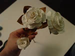 Make Easy Paper Roses - simple paper flowers