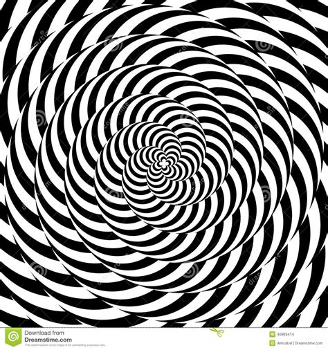 pattern distortion vector design colorful whirlpool circular illusion background