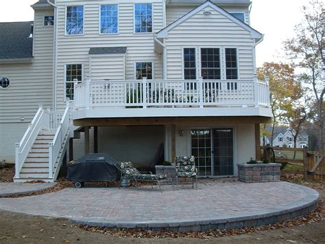 Deck And Patio Design Ideas Deck And Patio Combo Designs Home Design Ideas