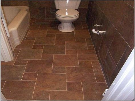 brown floor tiles bathroom brown tile floor