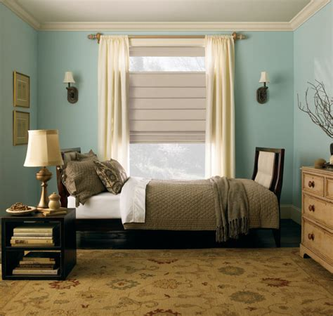 roman shades for bedroom levolor classic roman shade from blinds com traditional bedroom other metro by blinds com