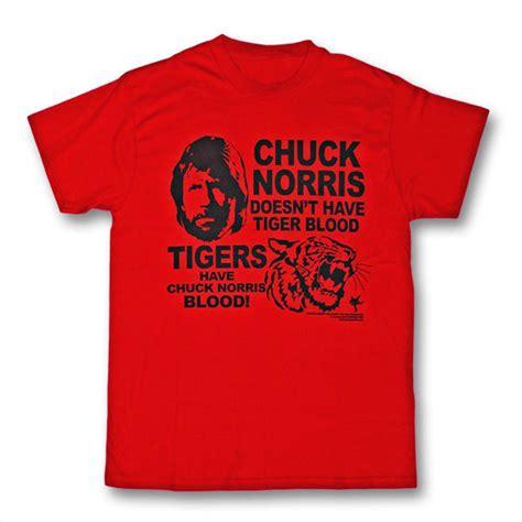 Tshirt Tshirt Here We Arenow chuck norris tiger blood t shirt chuck norris meme