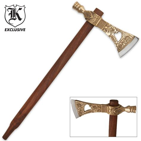 tomahawk prices tribal peace pipe tomahawk with brass accents budk