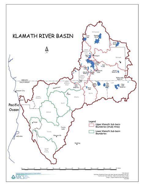 map of klamath oregon klamath basin adaptive management plan nrcs